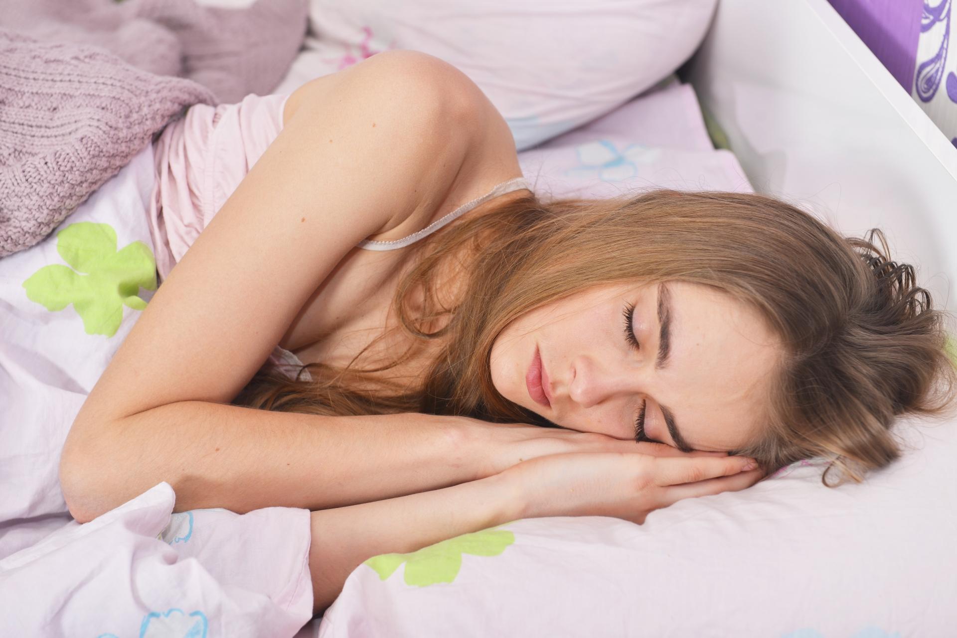寝てる間に効果を期待
